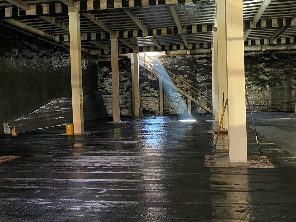 Carbon fiber used to rehabilitate historic El Paso Water structure